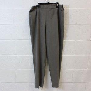 ESCADA (MARGARETHA LEY) PANTS - GRAY PANTS - US 12